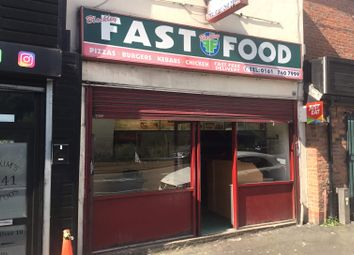 Thumbnail Restaurant/cafe for sale in Rochdale Road, Blackley, Manchester