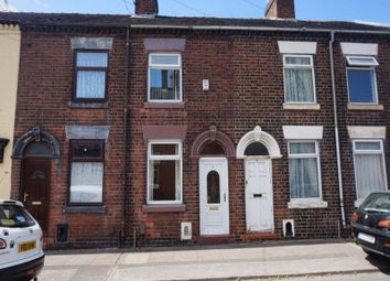 Thumbnail 2 bed terraced house to rent in Edward Street, Fenton, Stoke-On-Trent, Staffordshire