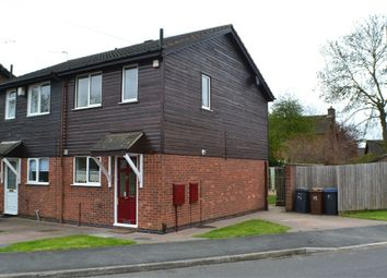 Thumbnail 2 bed semi-detached house to rent in Brascote Road, Hinckley, Leicestershire