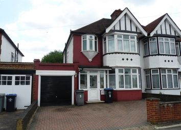 Thumbnail 3 bed semi-detached house for sale in Valley Drive, Kingsbury