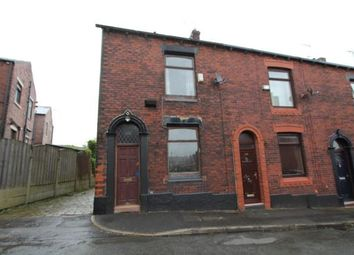 Thumbnail 2 bed end terrace house for sale in Alfred Street, Shaw, Oldham, Greater Manchester