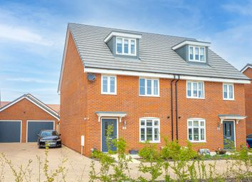 Thumbnail 3 bed semi-detached house for sale in Poplar Lane, Sproughton, Ipswich