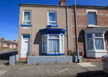 Thumbnail 3 bedroom end terrace house for sale in Derby Street, Darlington
