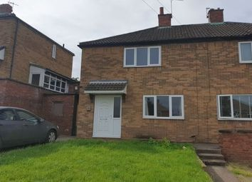 Thumbnail 2 bed semi-detached house to rent in Bernard Road, Doncaster