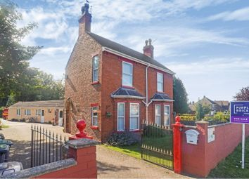 Thumbnail 4 bed detached house for sale in Station Road, North Hykeham
