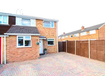 Thumbnail 4 bed semi-detached house for sale in Christchurch Drive, Blackwater, Camberley