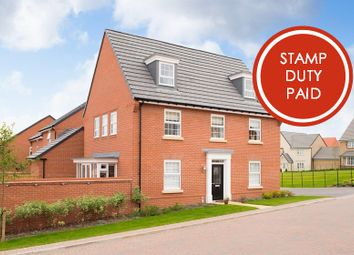 "Thumbnail 5 bed detached house for sale in ""Maddoc"" at Burnby Lane, Pocklington, York"