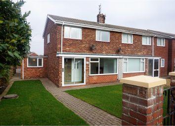 Thumbnail 3 bed semi-detached house for sale in Newbiggin Road, Ashington