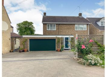 Thumbnail 4 bed detached house for sale in Station Road, Grantham