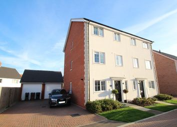 Thumbnail 4 bed town house for sale in Hedge Sparrow Road, Stowmarket