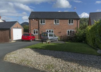 Thumbnail 3 bed detached house for sale in Abbey Close, Pool Quay, Welshpool, Powys