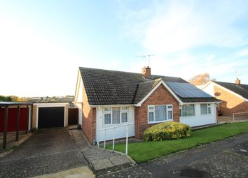 Thumbnail 2 bed semi-detached bungalow for sale in Hoxne Close, Stowmarket