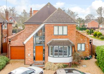 Thumbnail 4 bed detached house for sale in Mayfield Close, Harpenden, Hertfordshire