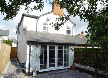 Thumbnail 3 bed semi-detached house for sale in Kings Head Lane, Byfleet