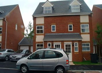 Thumbnail 4 bed semi-detached house to rent in Burberry Avenue, Hucknall, Nottingham