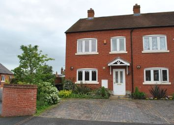 Thumbnail 3 bed end terrace house to rent in Bark Hill Mews, Whitchurch, Shropshire