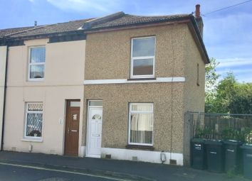 Thumbnail 2 bed end terrace house to rent in Leesland Road, Gosport