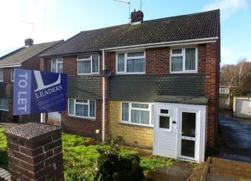 Thumbnail 3 bed semi-detached house to rent in Crowther Close, Sholing, Southampton