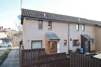 Thumbnail 2 bed end terrace house to rent in Balgayview Gardens, Dundee