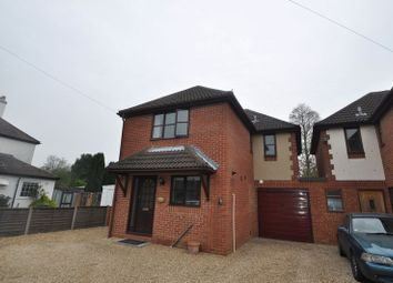 Thumbnail 4 bed detached house to rent in Grovefields Avenue, Frimley, Surrey