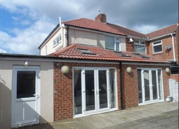 Thumbnail 2 bed semi-detached house to rent in Westbourne Avenue, Walkerdene, Newcastle Upon Tyne
