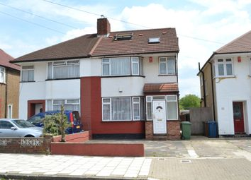 Thumbnail 3 bed flat for sale in Winchester Road, Kenton, Harrow