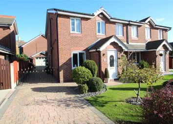 Thumbnail 3 bed semi-detached house for sale in Lambourne Grove, Milnrow, Rochdale, Greater Manchester