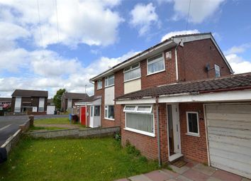 Thumbnail 3 bed semi-detached house for sale in Kingfisher Close, Kirkby, Liverpool