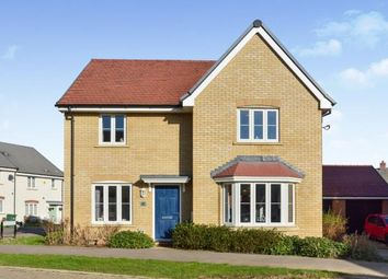 Thumbnail 4 bedroom detached house for sale in Curacao Crescent, Newton Leys, Milton Keynes, Buckinghamshire