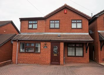 Thumbnail 4 bed detached house for sale in Briarbank Close, Stoke-On-Trent