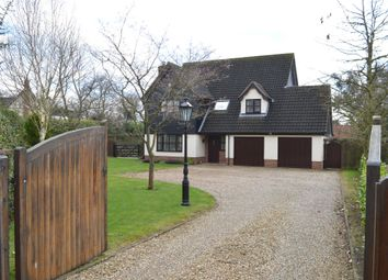 Thumbnail 4 bed detached house for sale in Bells Meadow, Necton, Swaffham