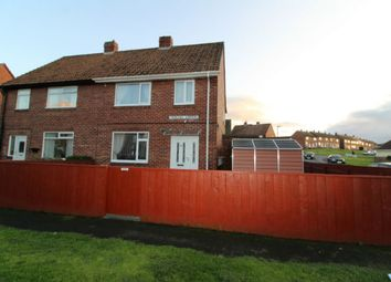 Thumbnail 3 bed semi-detached house for sale in Thornhill Gardens, Burnopfield Newcastle Upon Tyne