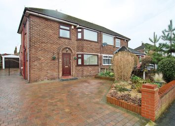 Thumbnail 3 bedroom semi-detached house for sale in Barnfield Road, Woolston, Warrington