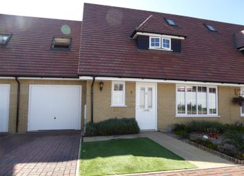 Thumbnail 3 bed terraced house for sale in Russell Close, Downham Market