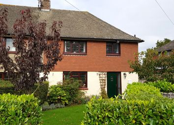Thumbnail 3 bed cottage for sale in Bensted Close, Hunton, Maidstone