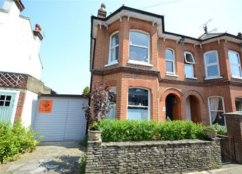 Thumbnail 4 bed semi-detached house for sale in Lansdowne Road, Aldershot, Hampshire