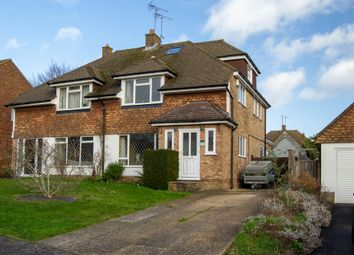 Thumbnail 4 bed semi-detached house for sale in Crawford Close, Earley, Reading