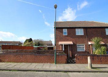 Thumbnail 3 bed flat for sale in Hautmont Road, Hebburn
