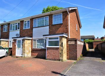 Thumbnail 3 bed end terrace house for sale in Clare Way, Bexleyheath