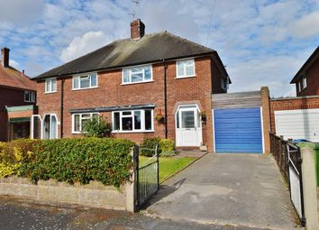 Thumbnail 3 bed semi-detached house for sale in Rickerscote Avenue, Stafford