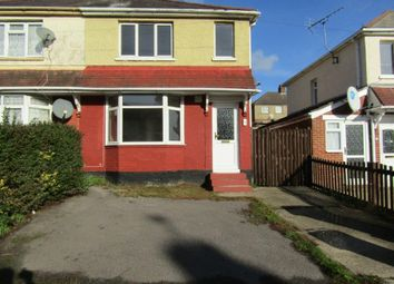 Thumbnail 3 bed semi-detached house to rent in Laburnum Road, Southampton