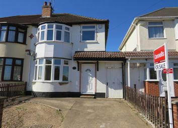 Thumbnail 3 bed semi-detached house for sale in Aylestone Drive, Aylestone, Leicester
