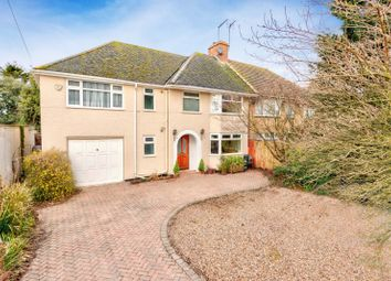 Thumbnail 5 bed semi-detached house for sale in Sleapcross Gardens, Smallford, St. Albans, Hertfordshire