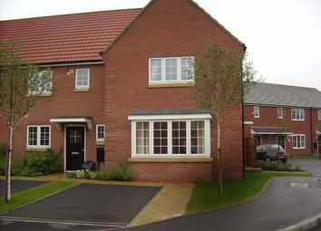 Thumbnail 3 bed semi-detached house to rent in Moorhen Close, Market Rasen