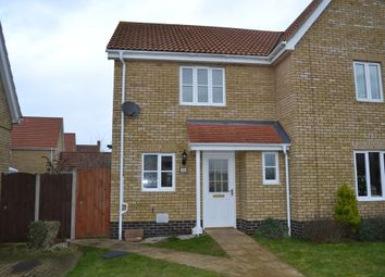 Thumbnail 2 bedroom semi-detached house for sale in Oxford Drive, Hadleigh, Ipswich