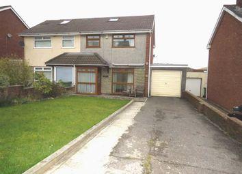 Thumbnail Semi-detached house for sale in Lan Close, Pontypridd