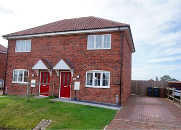 Thumbnail 2 bed semi-detached house for sale in Vasey Close, Bassingham