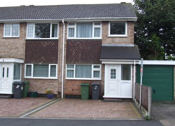 Thumbnail 3 bed terraced house to rent in Tibberton Close, Wolverhampton