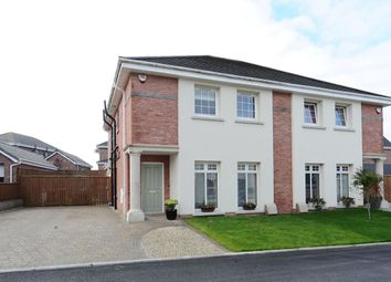 Thumbnail 4 bed semi-detached house for sale in Millreagh Avenue, Dundonald, Belfast