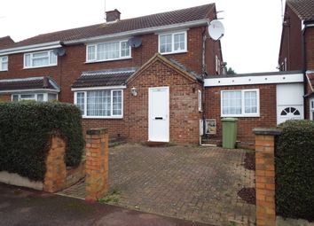 Thumbnail 4 bedroom terraced house to rent in Buckingham Road, Bletchley